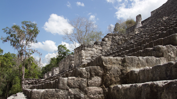 Mayan Ruins Mexico Kalakmul 1