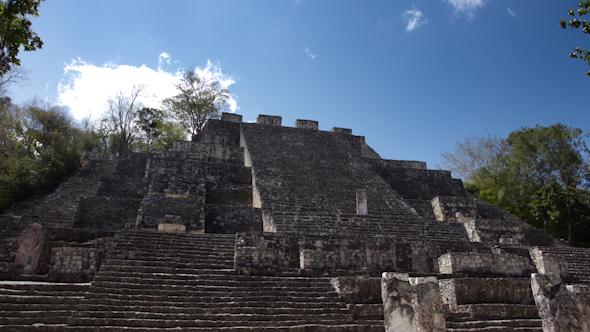 Mayan Ruins Mexico Kalakmul 2