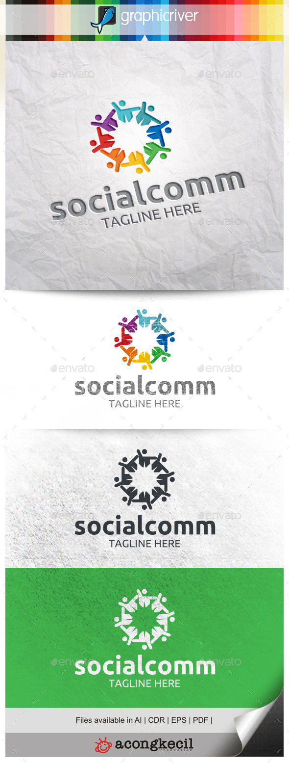GraphicRiver Social Community V.4 9995527