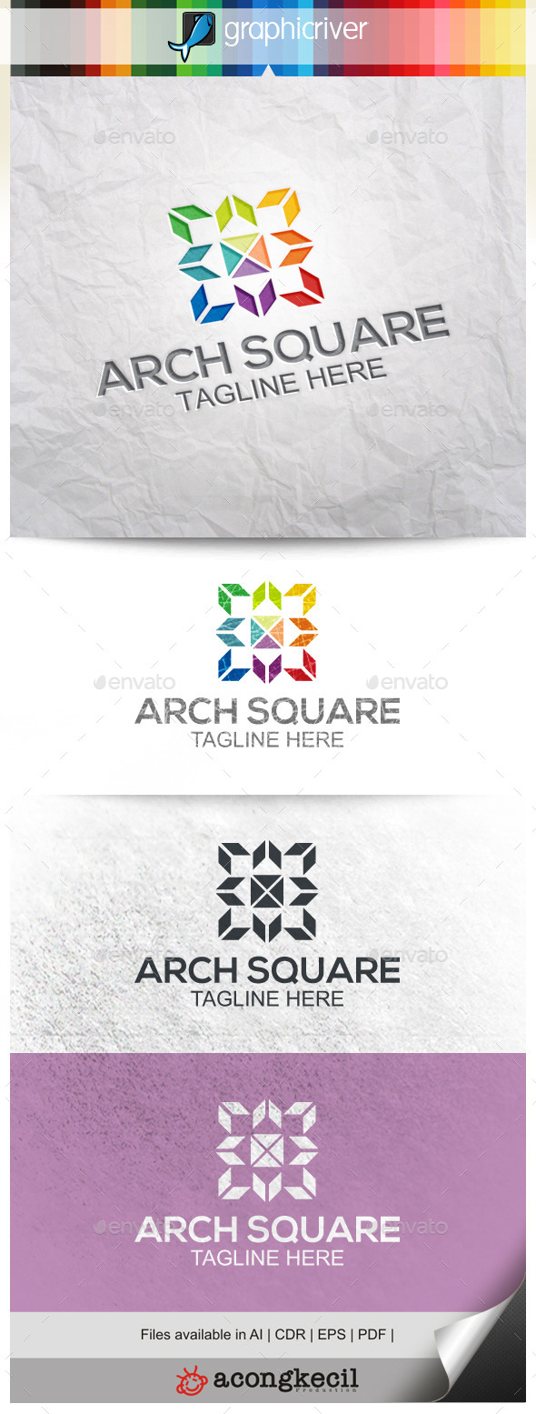 GraphicRiver Architecture Square V.5 9995873