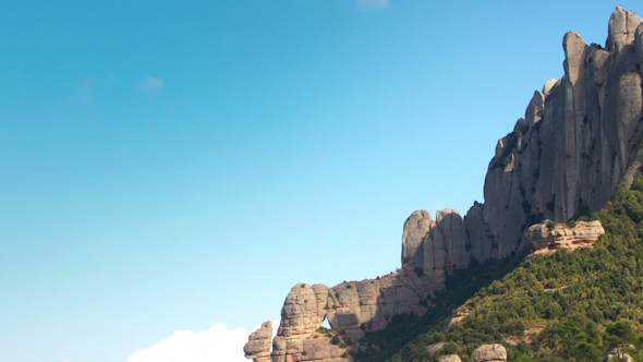 Montserrat Mountain Range Spain 5