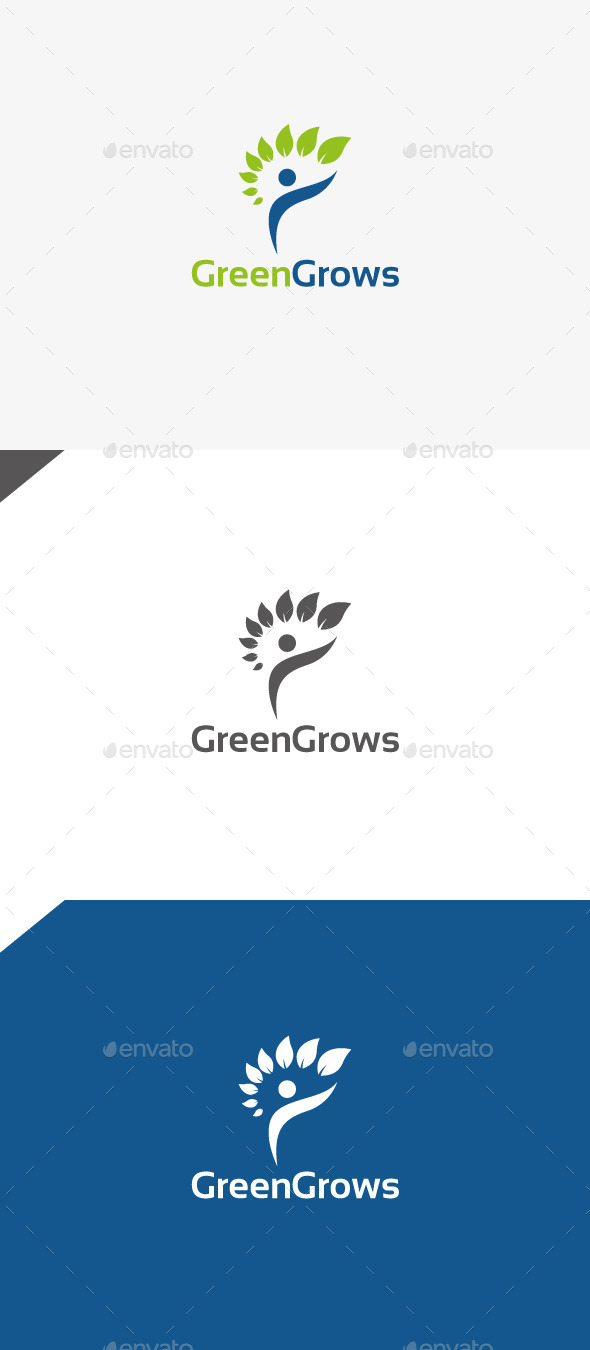 GraphicRiver Green Grows 9996111