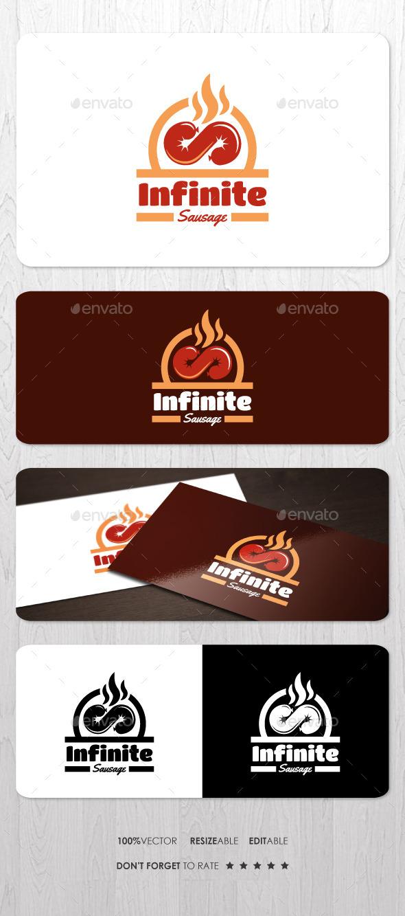 GraphicRiver Infinite Sausage Logo 9996335