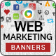 Web Marketing Banners - GraphicRiver Item for Sale