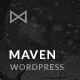 Maven - Responsive Portfolio WordPress Theme - ThemeForest Item for Sale