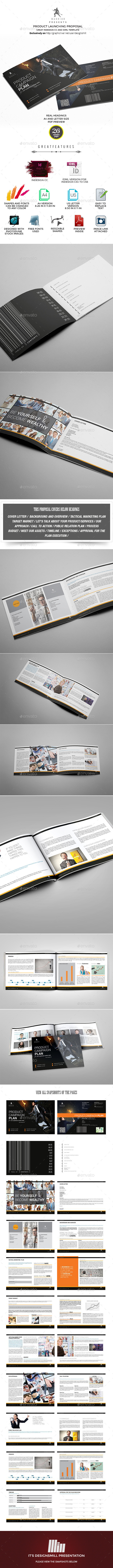GraphicRiver Product Campaign Proposal 9996488