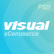 Visual - eCommerce PSD Template - ThemeForest Item for Sale