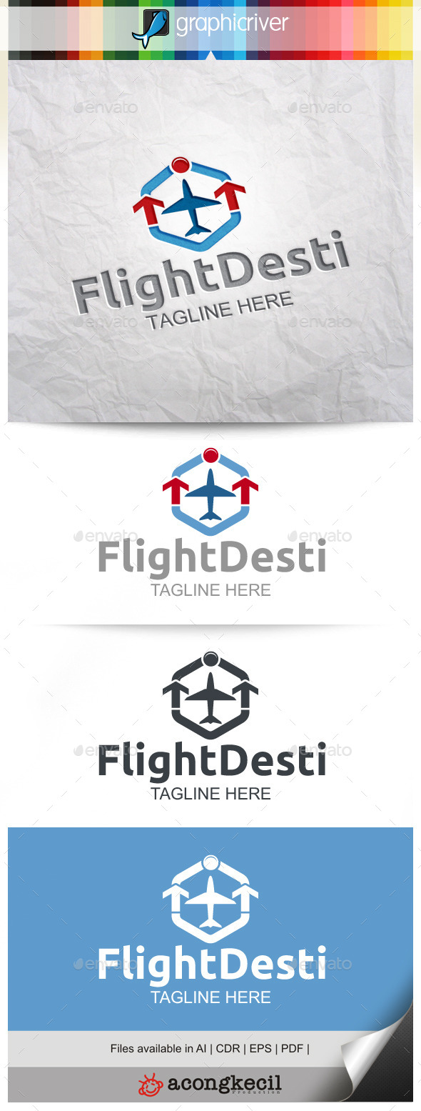 GraphicRiver Flight Destination 9996864