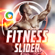Fitness Slider/Hero Image - GraphicRiver Item for Sale