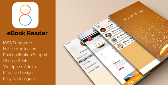 CodeCanyon eBook reader iOS 9996978
