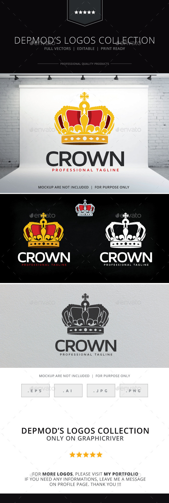 GraphicRiver Crown Logo 9997080