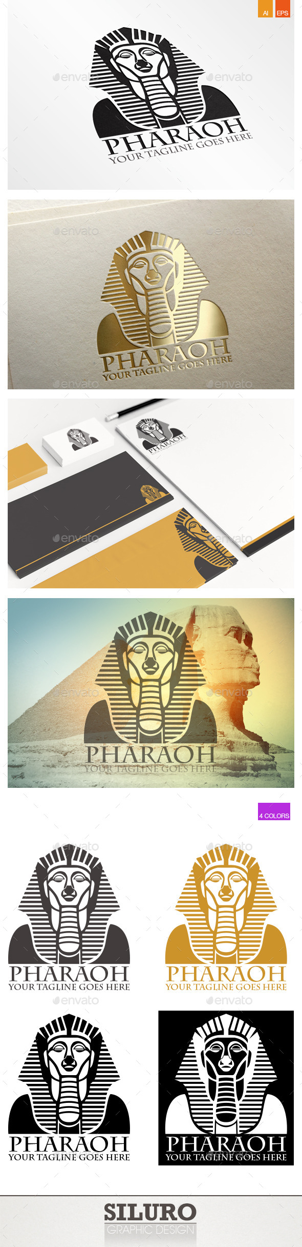 GraphicRiver Pharaoh Logo 9997099