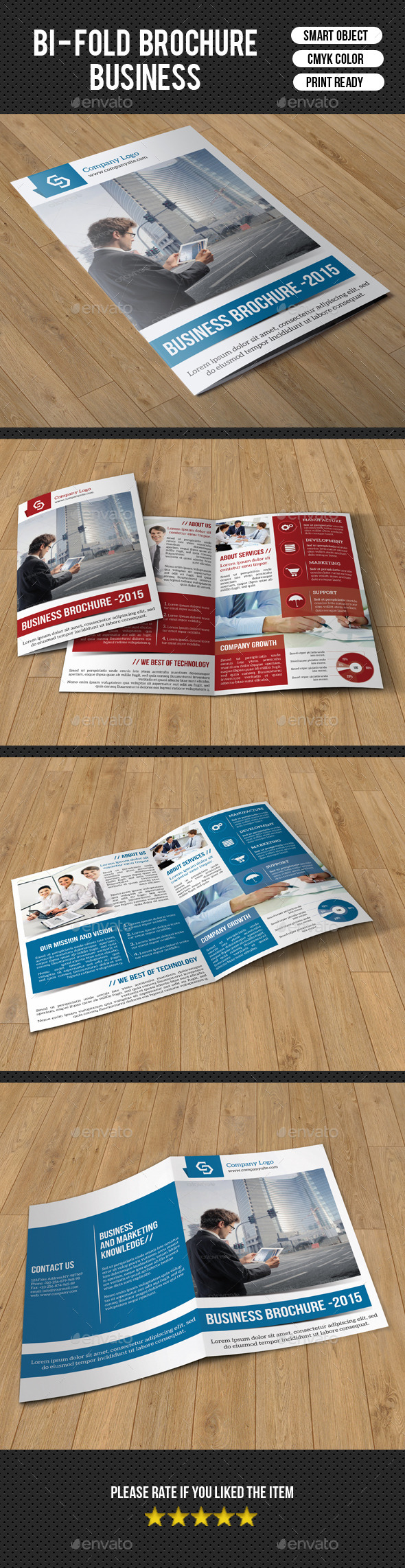 GraphicRiver Trifold Business Brochure-V213 9997251