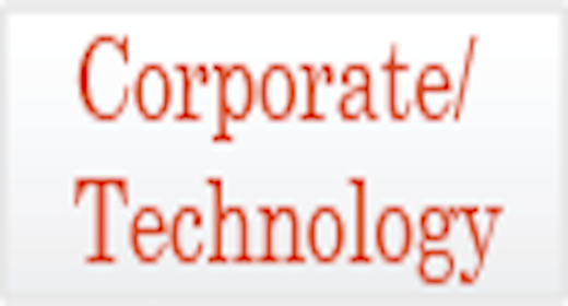 Usage - Corporate Technology
