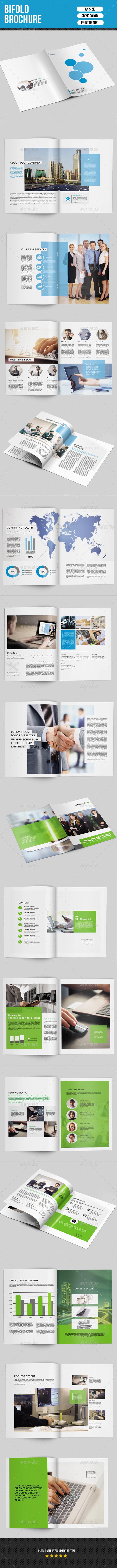 GraphicRiver Corporate Bifold Brochure Bundle-V06 9997365