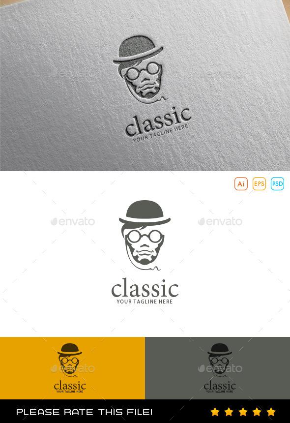 GraphicRiver Gentleman Logo 9997391