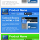 Tabbed Boxes with XHTML + CSS Part 2 - GraphicRiver Item for Sale