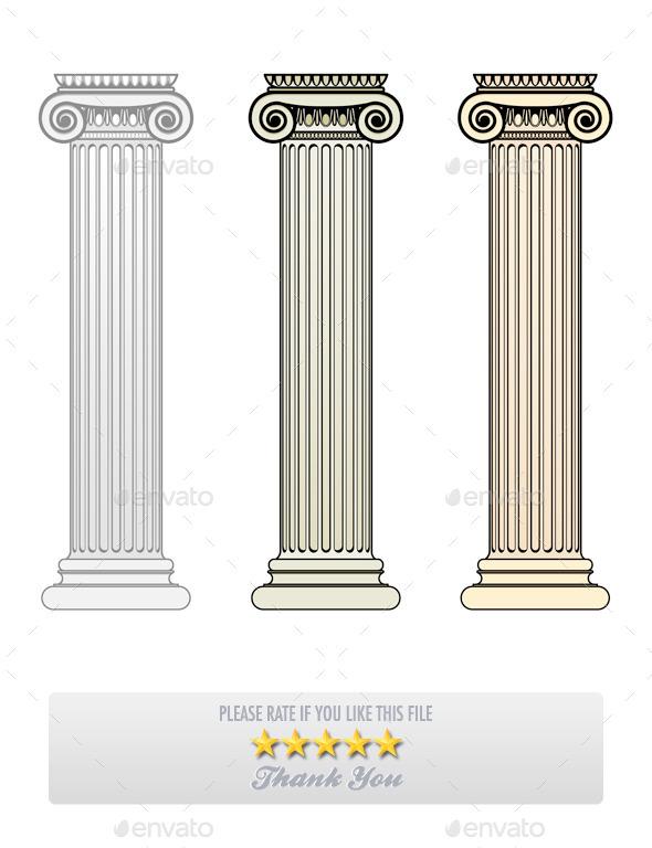 GraphicRiver Ionic Columns 9997635