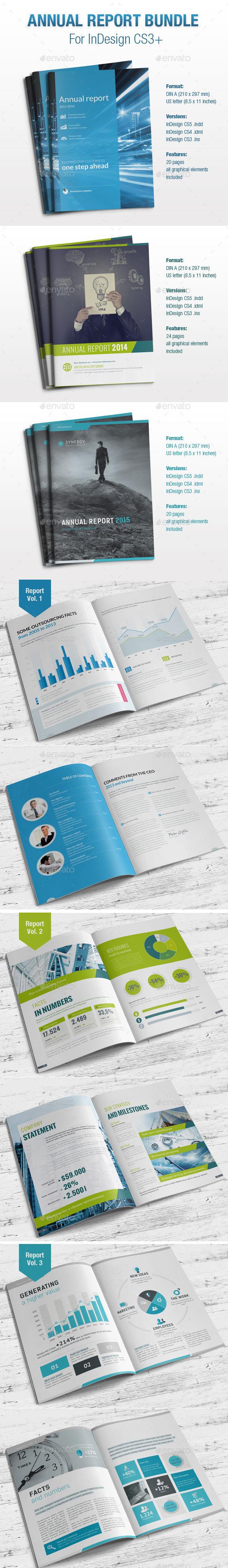 GraphicRiver Annual Report Bundle 9997655