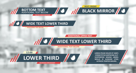 Lower Thirds and Elements