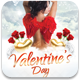 Valentines Day Flyer Template v2 - GraphicRiver Item for Sale