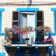 Medieval balcony with flowers - PhotoDune Item for Sale