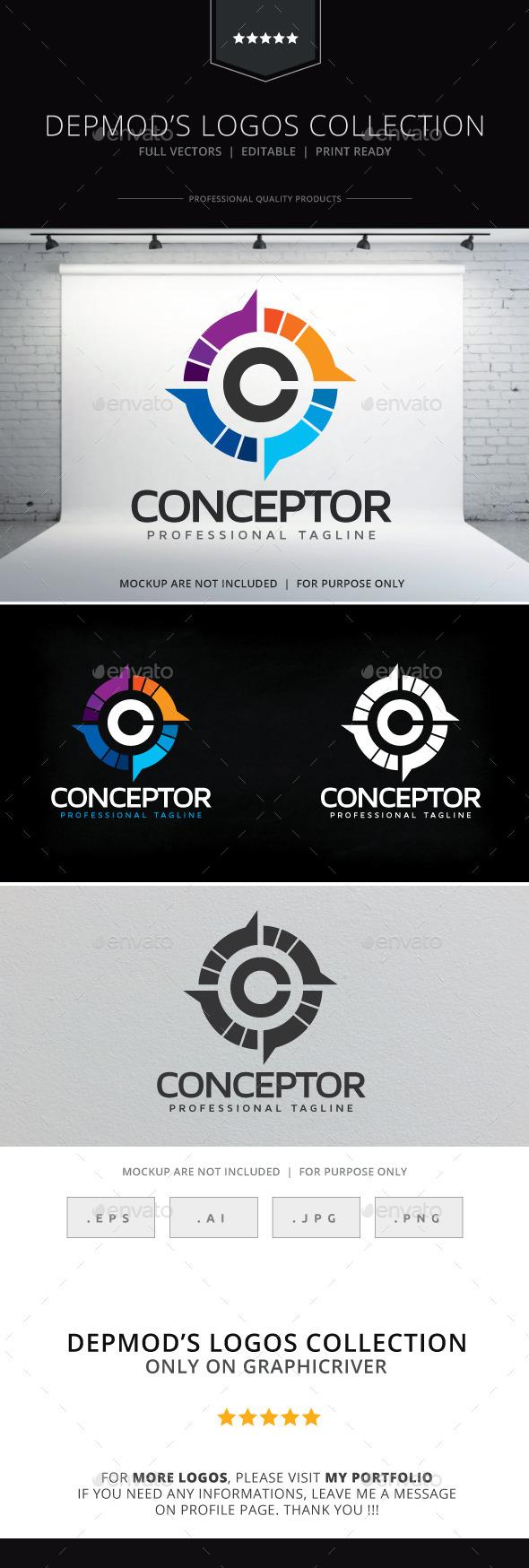 GraphicRiver Conceptor Logo 9997789