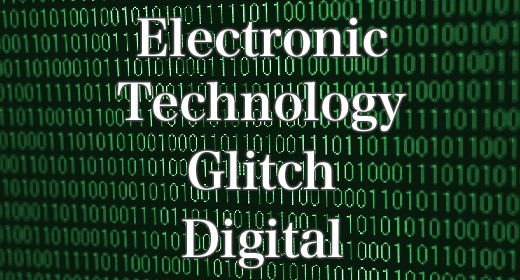 Electronic-Technology-Glitch-Digital