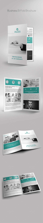 GraphicRiver Business Bi-Fold Brochure 9997815