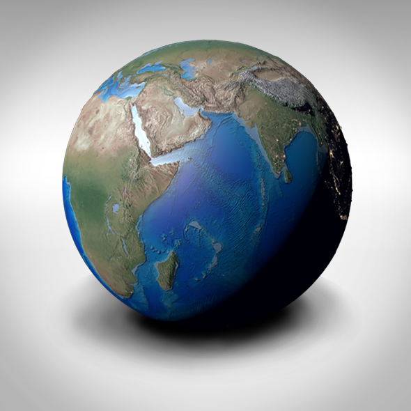 3DOcean Beautiful Planet Earth 9997834