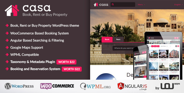 Casa Book Rent or Buy Property