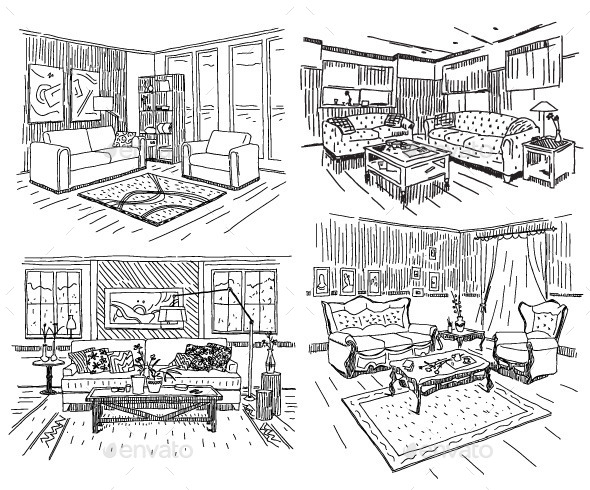 GraphicRiver House Interiors 9998168