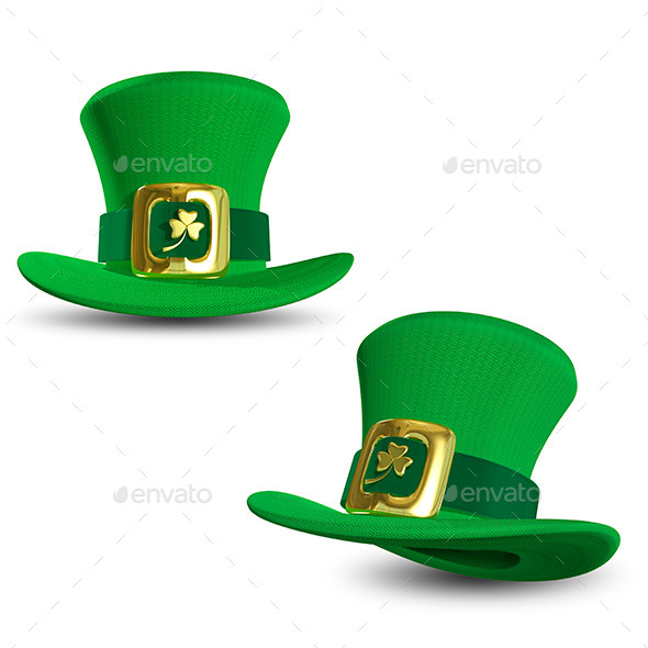 GraphicRiver St Patrick Hat 9998364