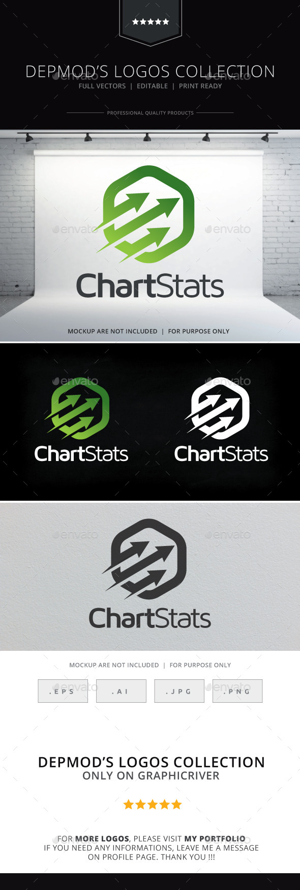 GraphicRiver Chart Stats Logo 9998368