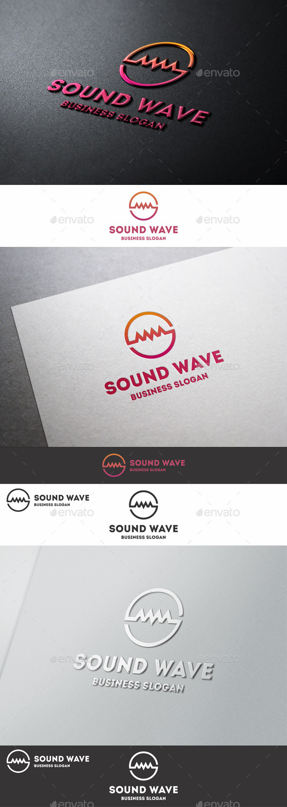 GraphicRiver Sound Wave Logo S Letter 9998384