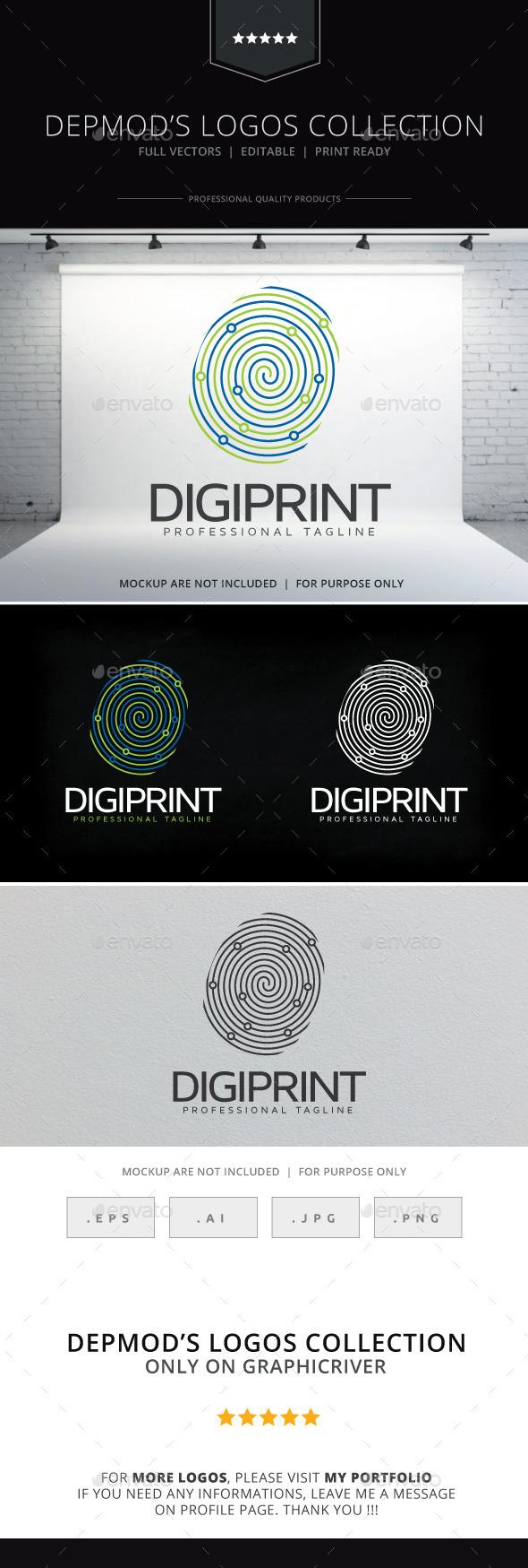 GraphicRiver Digi Print Logo 9998440