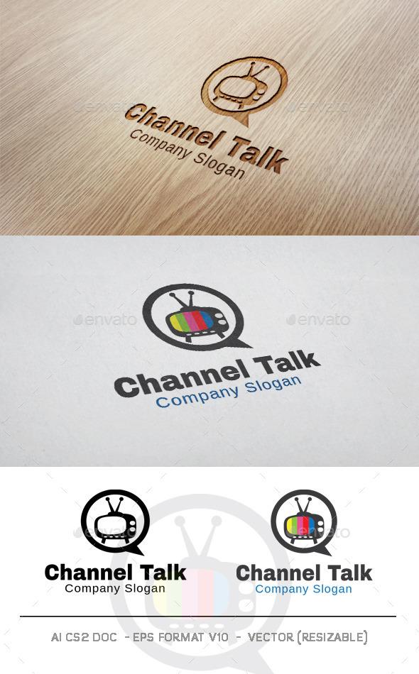 GraphicRiver Channel Talk Logo 9998780