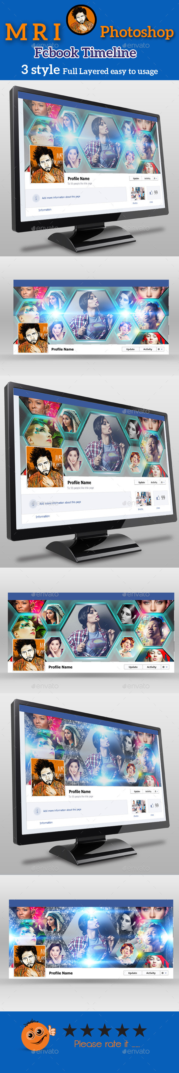 GraphicRiver Photographer Fcbook Timeline 9998855