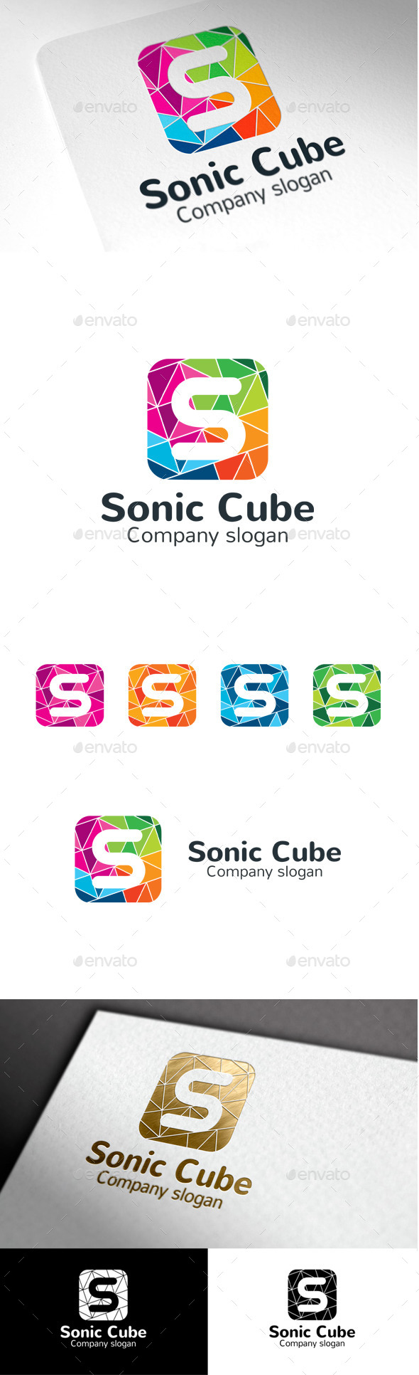 GraphicRiver Sonic Cube S Letter 9998920