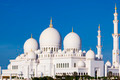 Beautiful view of famous Sheikh Zayed Grand Mosque - PhotoDune Item for Sale