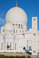 Vertical view of famous Sheikh Zayed Grand Mosque - PhotoDune Item for Sale