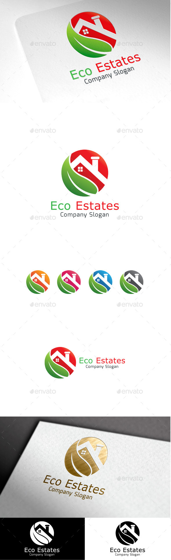 GraphicRiver Eco Estates 9999586