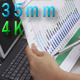 Business Woman Hands Working On Charts - VideoHive Item for Sale