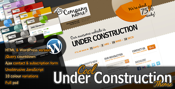 Cool Under Construction Theme