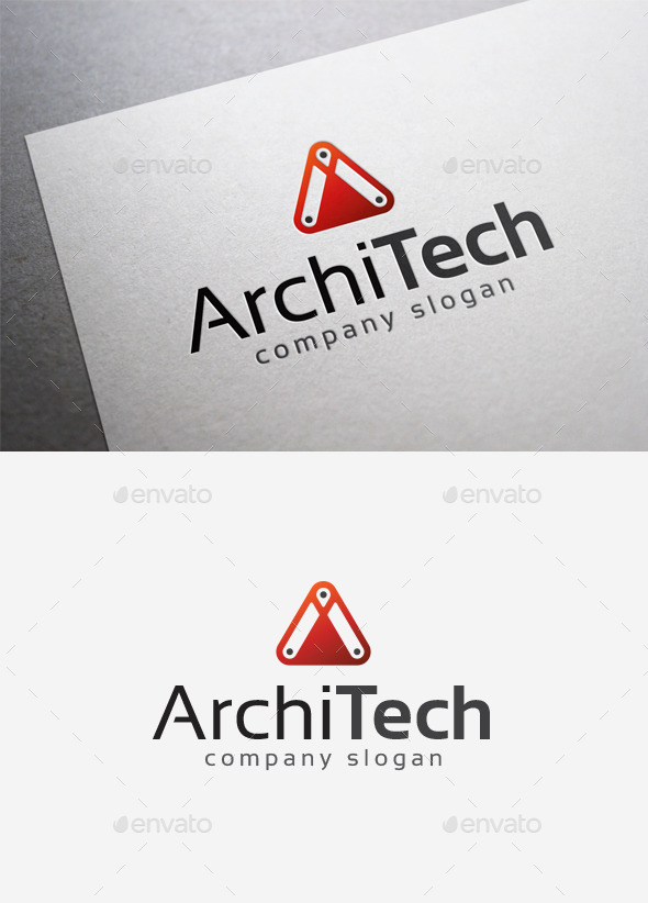 GraphicRiver Archi Tech Logo 9999597