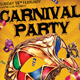 Carnival n Mardi Gras Party Flyer v4 - GraphicRiver Item for Sale