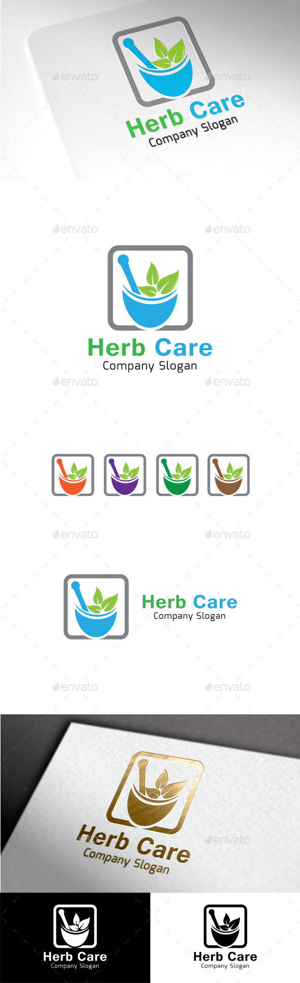 GraphicRiver Herb Care 9999686