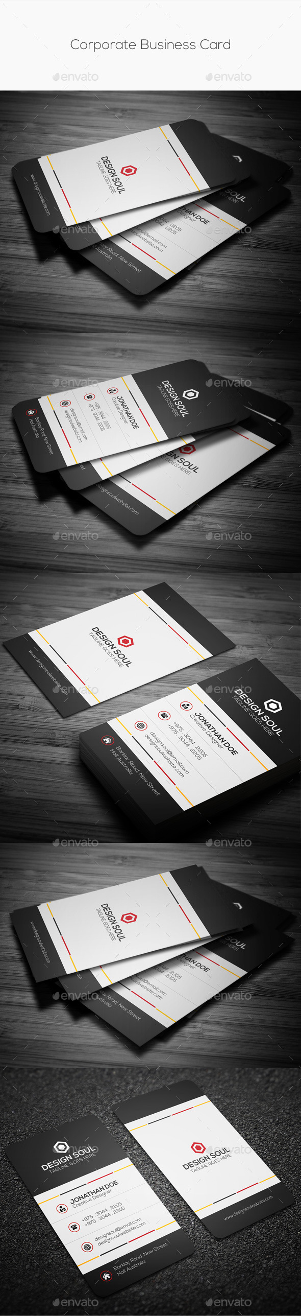 GraphicRiver Corporate Business Card 9999716