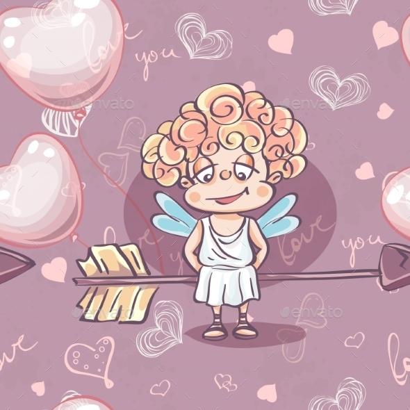 GraphicRiver Valentine s Day Pattern 9999748