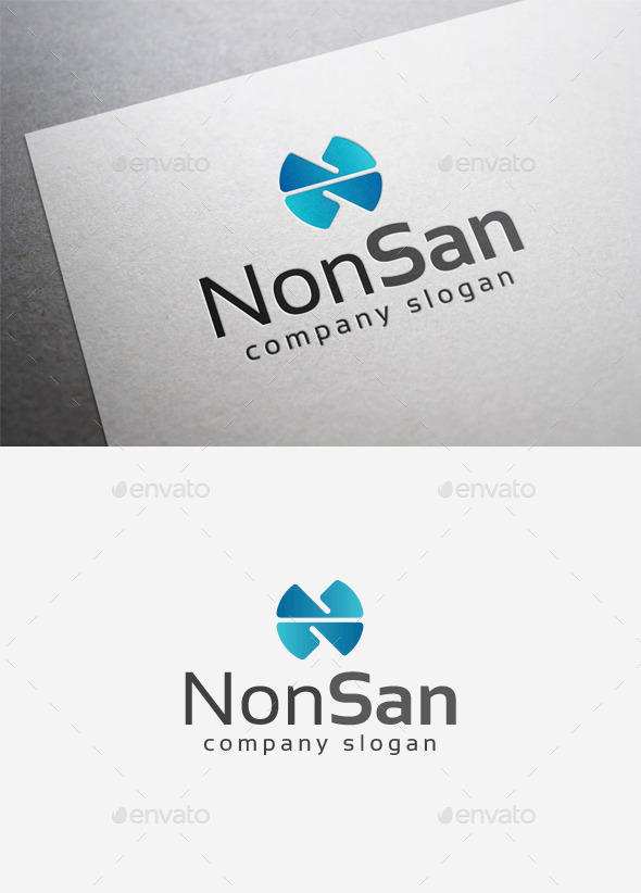 GraphicRiver Nonsan Logo 9995148